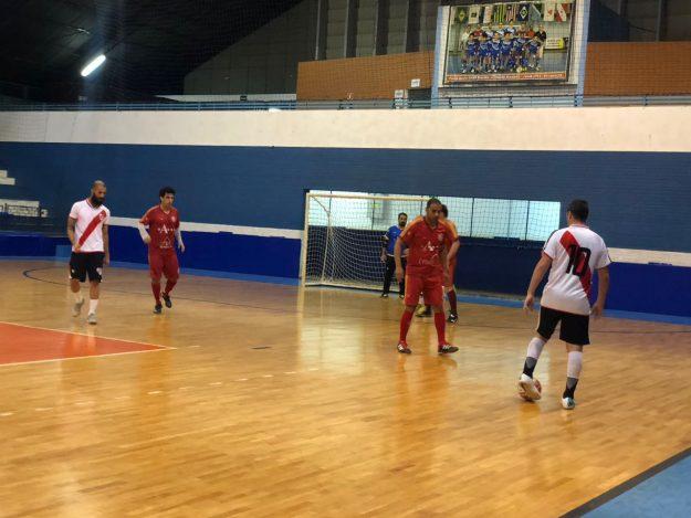 008a0f6f4a Futsal Veterano 2018 – Acabou a brincadeira – vamos para as semifinais